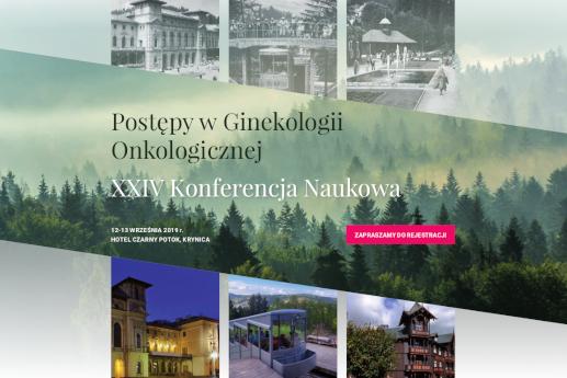 XXIV Konferencja Naukowa Postępy wGinekologii Onkologicznej