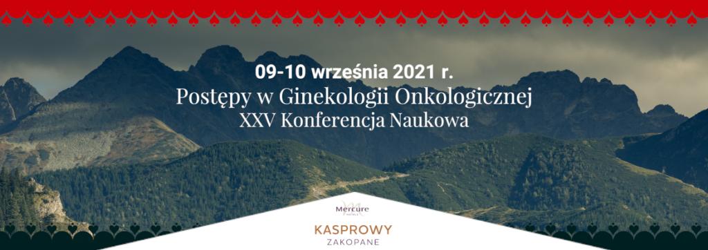 Konferencja Postępy wGInekologii Onkologicznej